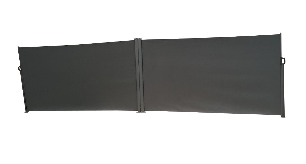 PARAVENT DOUBLE CAPAO GRAPHITE
