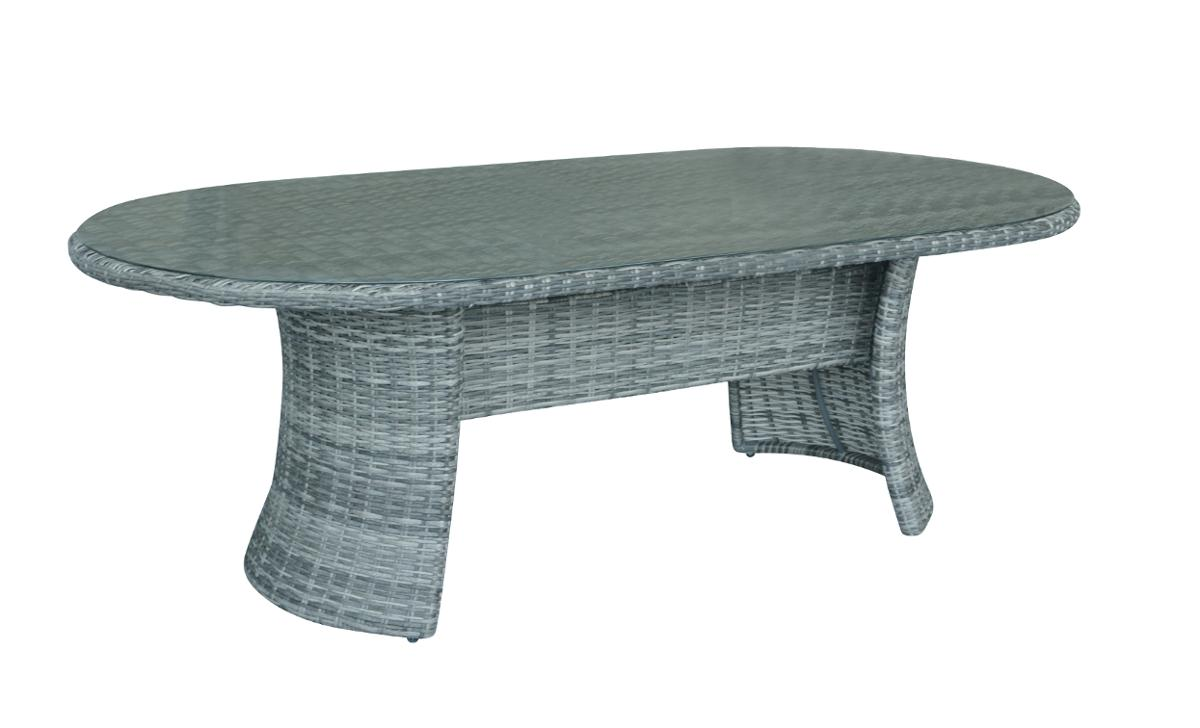 TABLE MOOREA OVALE 8P TERRE D