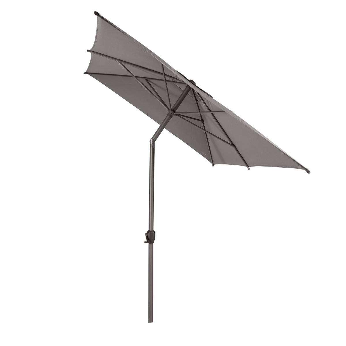 PARASOL DROIT RECTANGULAIRE LOOMPA TAUPE