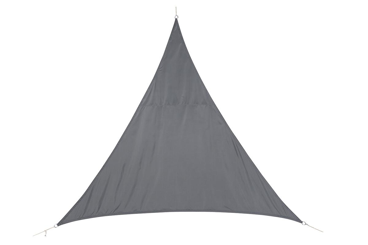 VOILE D'OMBRAGE TRIANGULAIRE CURACAO GRIS