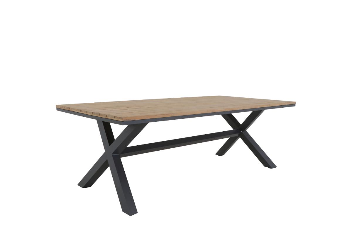 TABLE AXIOME FIXE 8P TECK